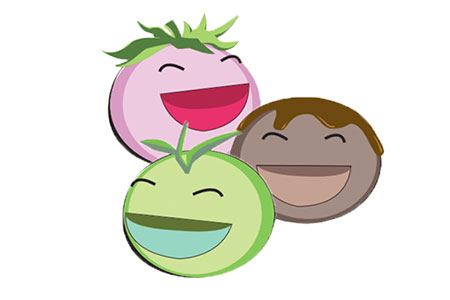 Smiling Mochi Ice Cream Buddies